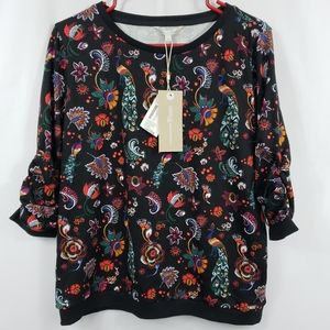 Tom Tailor Floral Sweater Size XL NEW